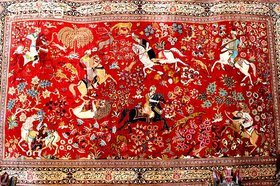Fake silk threating future of Isfahan carpet