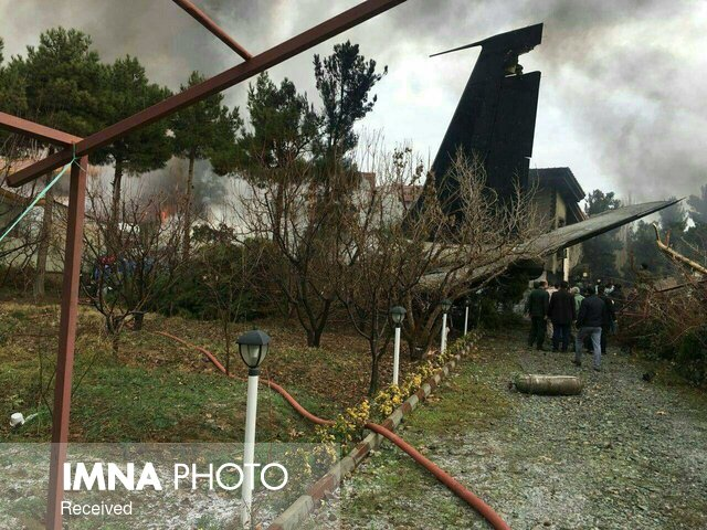 Boeing 707 cargo plane crashes in Iran