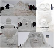 Afus snow sculpture festival ready to be nationalized
