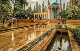 Sa'dia; burial place of grand Iranian poet
