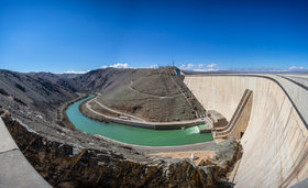 Zayanderud dam not filled up