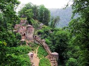 Mysterious Castle at Heart of Jungle
