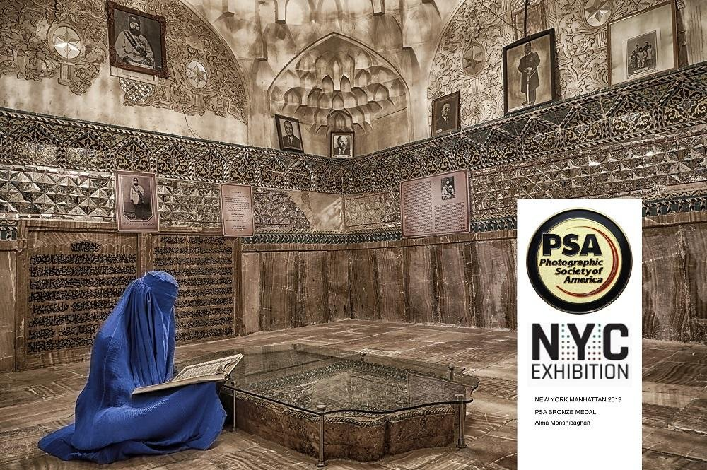 Female Iranian photographer grabs bronze medal of PSA