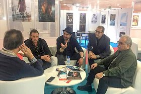 Iranian cinematic officials, films attend in  market section of Cannes filmfest