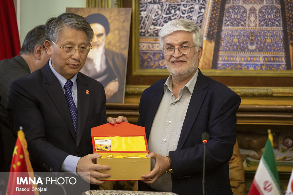Iran, china share a common historical background