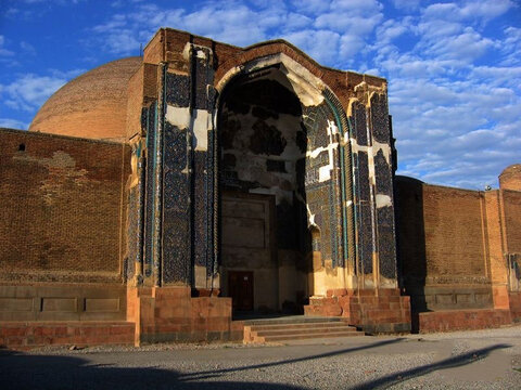 The Blue Mosque of Tabriz; The Turquoise of Islam