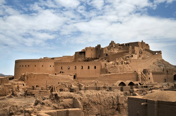 Bam Citadel; World's Largest Adobe Building