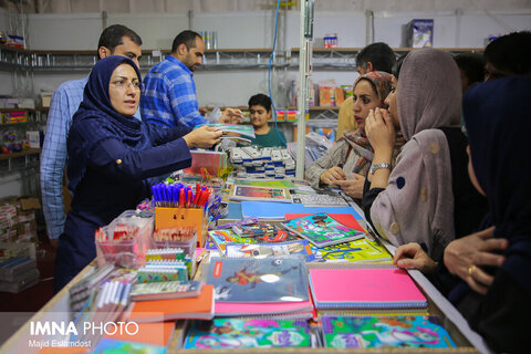 Students are busy buying Stationary Items