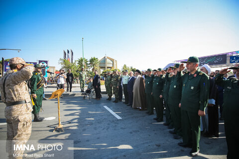 Iran's Armed Forces stage parades to mark Sacred Defense Week