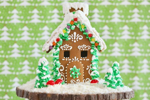 Happy Gingerbread House Day!