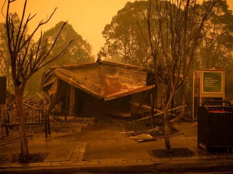 Devastating fires don't give a break to Australia!