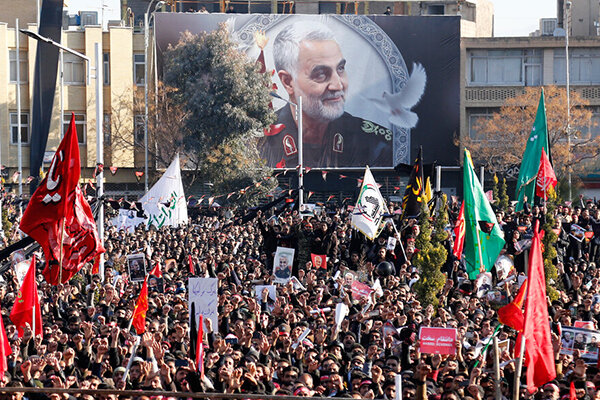 Kerman pays homage to Lieutenant General Qassem Soleimani