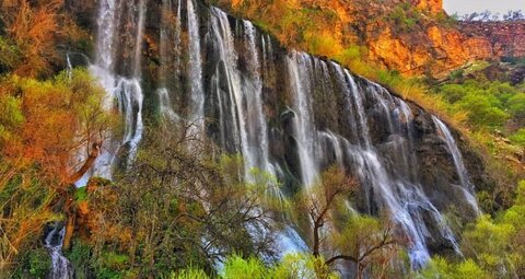 Shevi waterfall