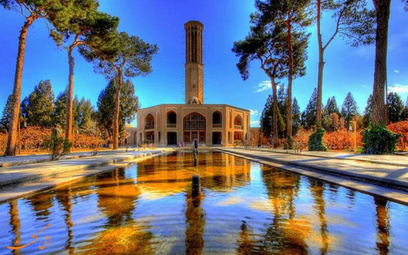 Manifestation of Persian architecture in Dolat Abad garden