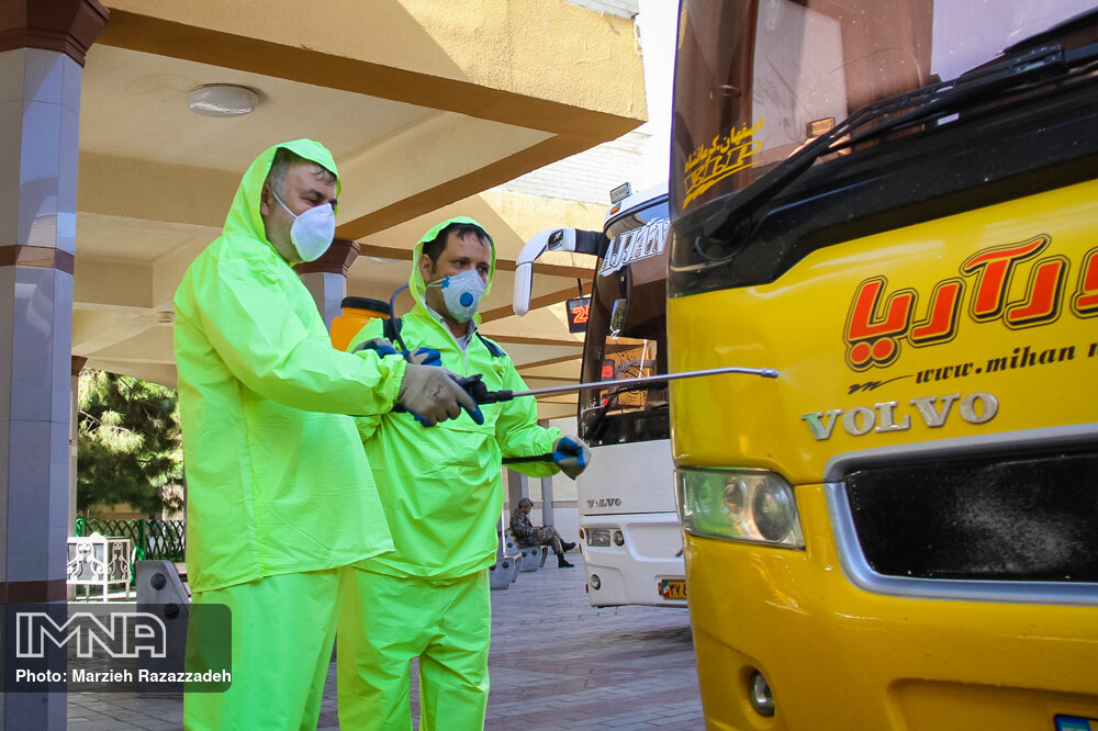Isfahan municipality taken preventive measures to combat outbreak of coronavirus