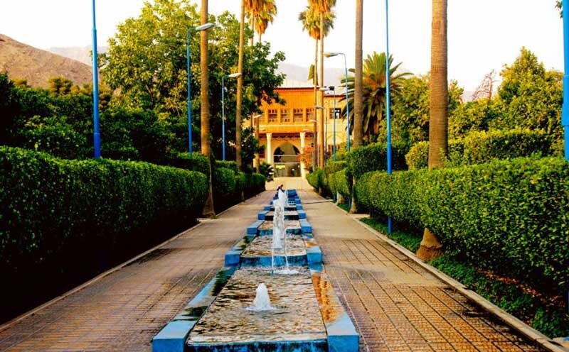 Delgosha Garden in Shiraz