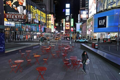 Deserted Public Spaces Around the World