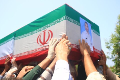 Iran holds funeral procession for 19 victims of naval exercise incident